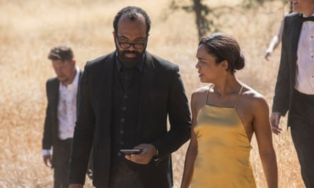 'Is this dragging on a bit?' Jeffrey Wright and Tessa Thompson in Westworld