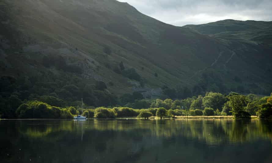 Fire and rescue teams were called out to Ullswater on Friday after reports of a male swimmer in distress