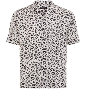Leopard shirt, £17.99 newlook.com