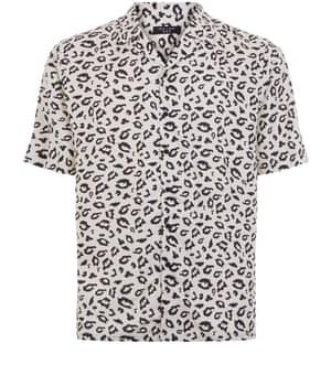 Leopard shirt, £17.99 newlook.com
