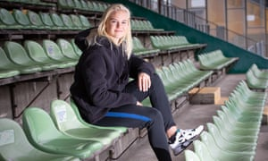 Pernille Harder scored 17 goals in 22 league games for Wolfsburg last season as the club won the double in Germany.
