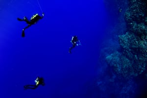 This March a scientific team from the California Academy of Sciences became the first divers to study mesophotic ecosystems off Rapa Nui