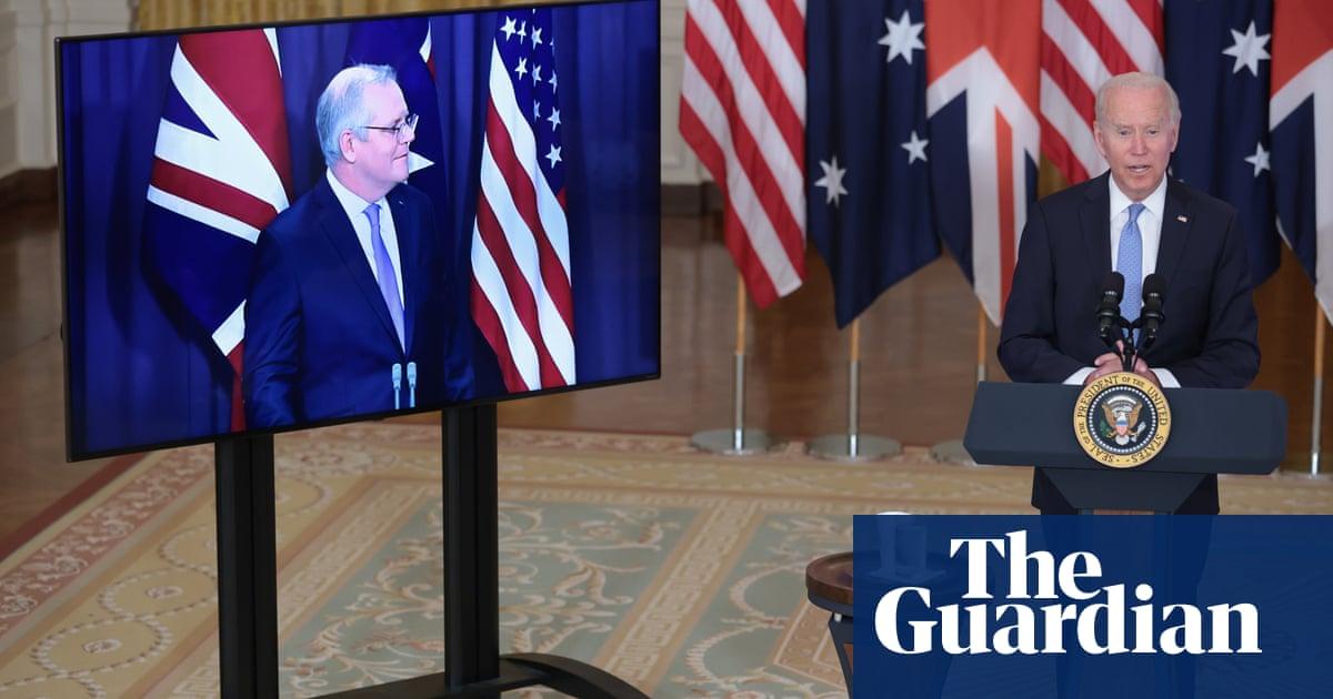 'Cold war mentality': China criticises US-UK-Australia submarine pact