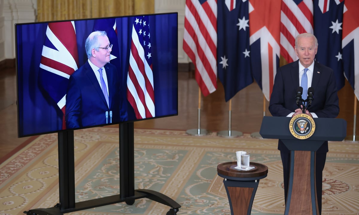 The Aukus pact with Australia and the US resets the UK's relationship with China