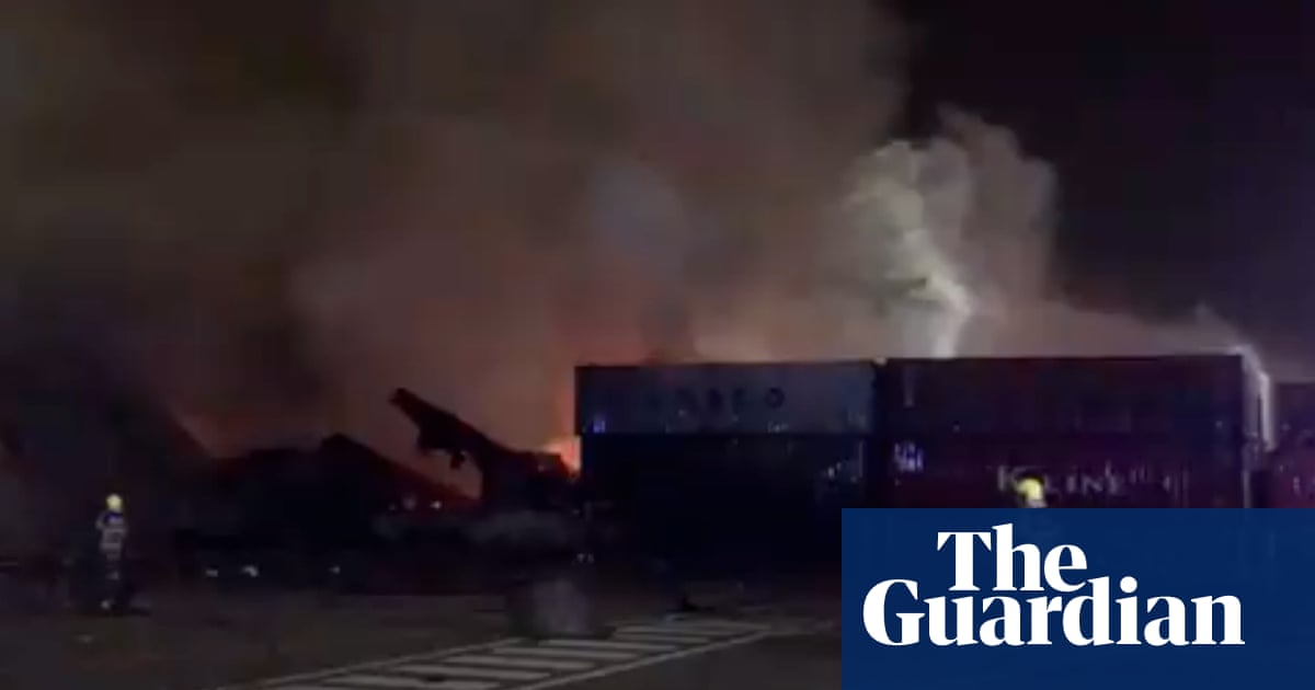 Explosion at Dubai's Jebel Ali port sends tremors across city