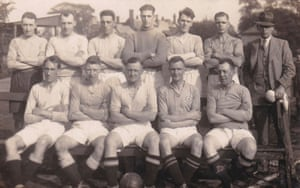 Stanley Marwood Johnson, RW Johnson's father, in the front row, second from left.