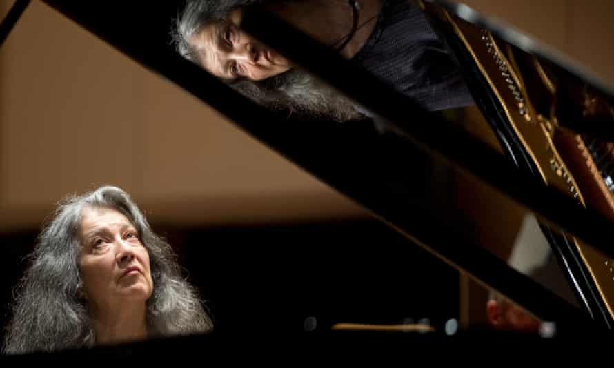 Imperishable virtuosity... Martha Argerich in 2013.