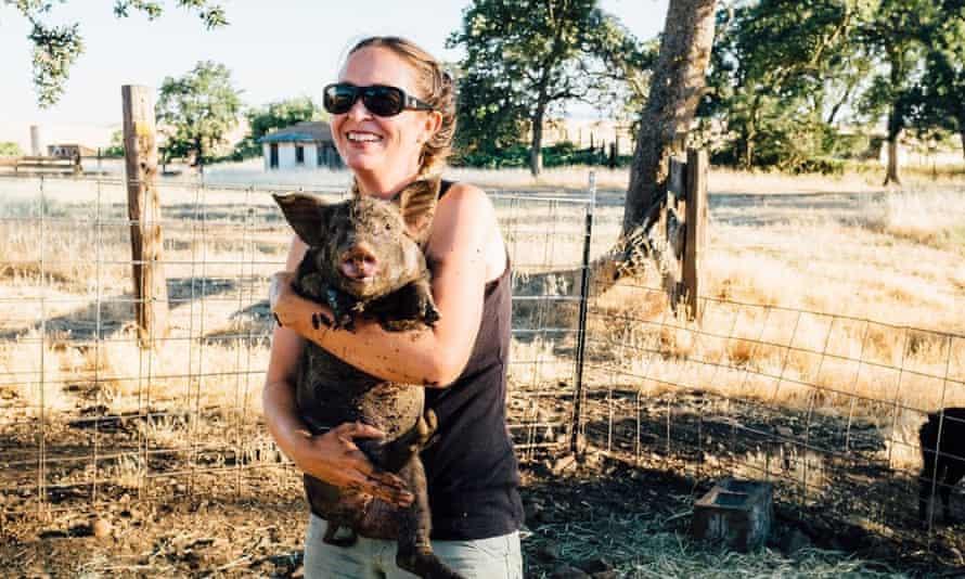Meg Brown at Table Mountain Ranch, CA