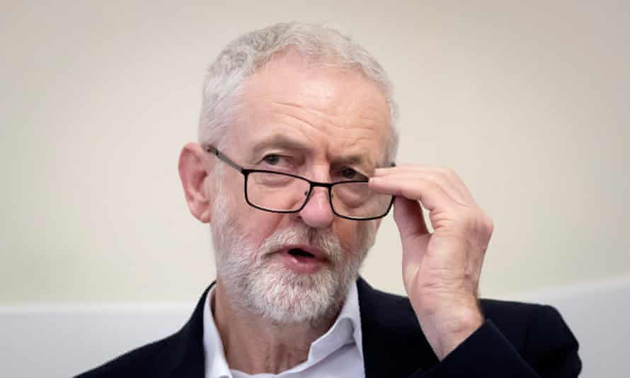 Jeremy Corbyn. 'A large difficulty is the Labour party, whose membership and voters are mostly pro-remain but whose leadership is ambiguous.'