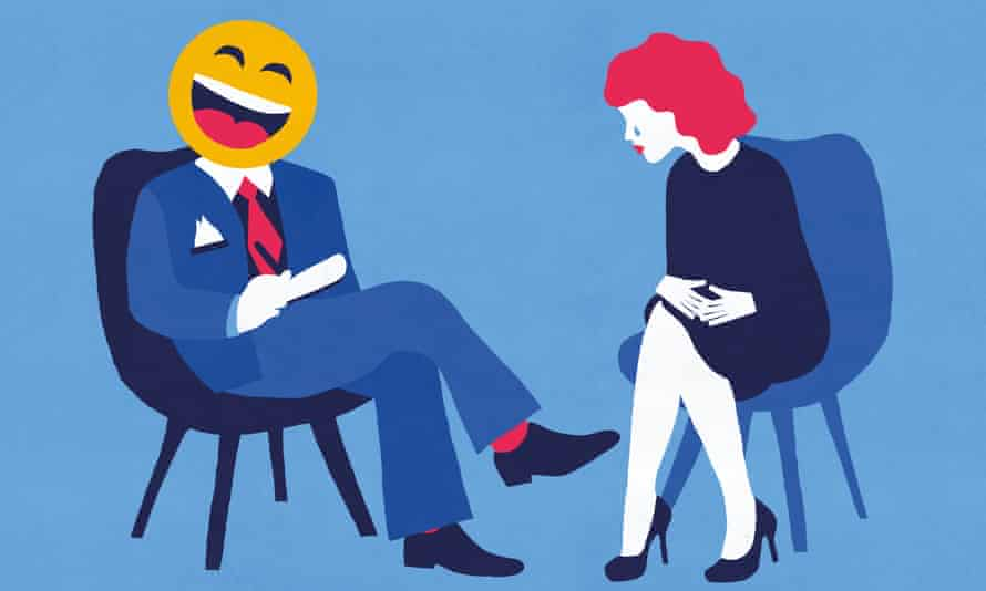 Text therapy: ' I didn't immediately realize the greatest drawback: you can't choose your therapist'.