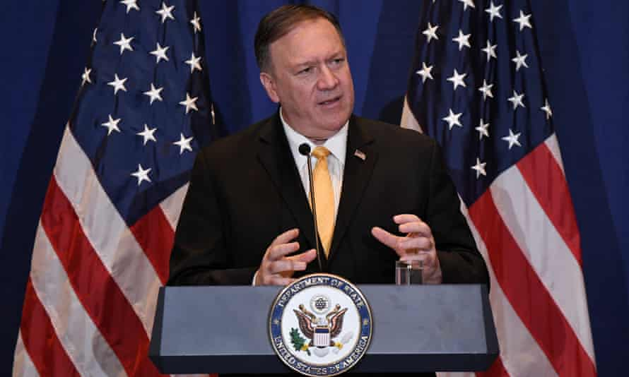 Mike Pompeo reportedly took part in a phone call between Trump and the president of Ukraine.