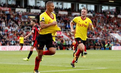 Richarlison and Capoue strikes reward battling Watford at Bournemouth