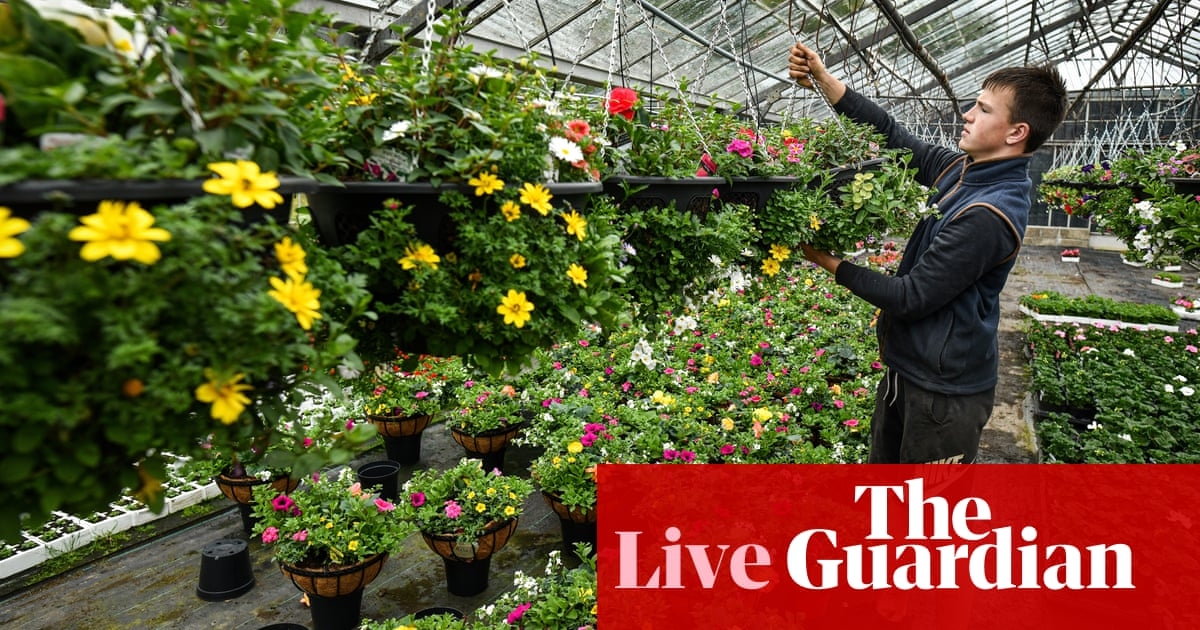 UK retail sales jump 5.4% as Covid-19 restrictions ease – business live