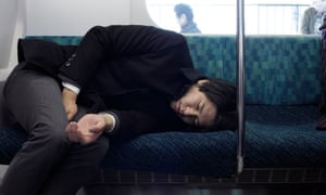 Dead tired: a recent report says one in five Japanese workers is at risk of death from overwork.