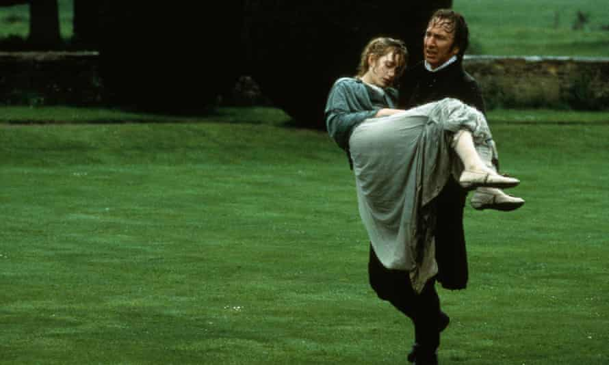 'I was intimidated, but in reality, he was a warm-hearted puppy dog' … Kate Winslet and Alan Rickman in Sense and Sensibility.