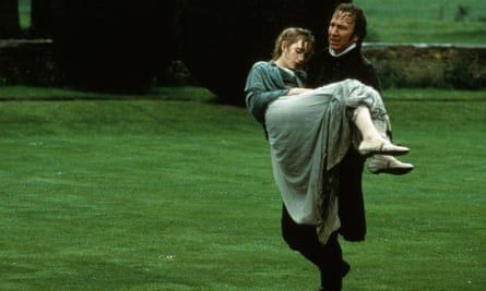 Alan Rickman and Kate Winslet in Sense and Sensibility, 1995.
