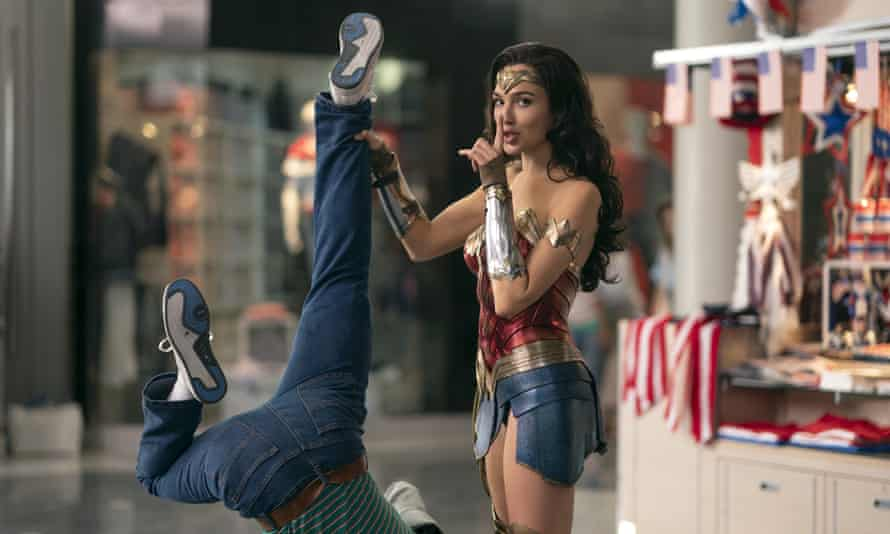 Upending the way we watch? … Gal Gadot in Wonder Woman 1984.