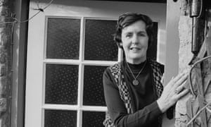 Barbara Pym, pictured at home in Oxfordshire in 1979.