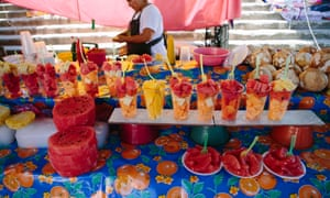 Fruit stall at the market