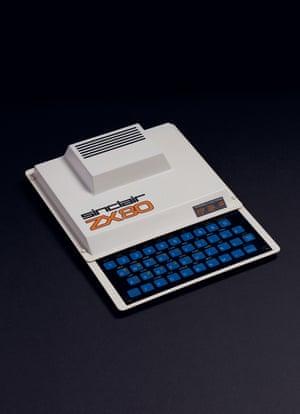 Sinclair ZX80 (1980) home computer.
