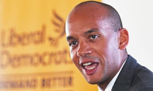 Former Change UK and Labour MP Chuka Umunna at a press conference in Westminster, London, to announce he is joining the Liberal Democrats.