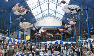 Arts and Crafts market, Abergavenny Market Hall.