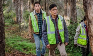 John Cho in the 2018 thriller Searching