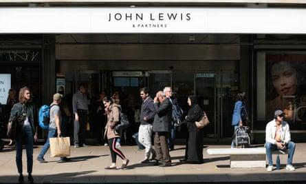 John Lewis department store in Oxford  Street, London.