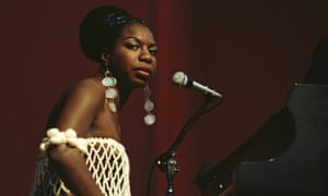 'Blazing, harsh and direct': Nina Simone at the Newport Jazz Festival , Rhode Island in 1968.
