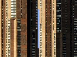 Blue Rectangle (New York City, New York) by Nikola Olic