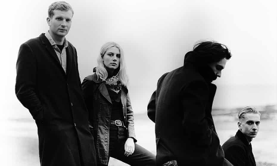 'Boldness suits Wolf Alice better than you might expect' ... (L-R) Joff Oddie, Ellie Rowsell, Joel Amey, Theo Ellis.