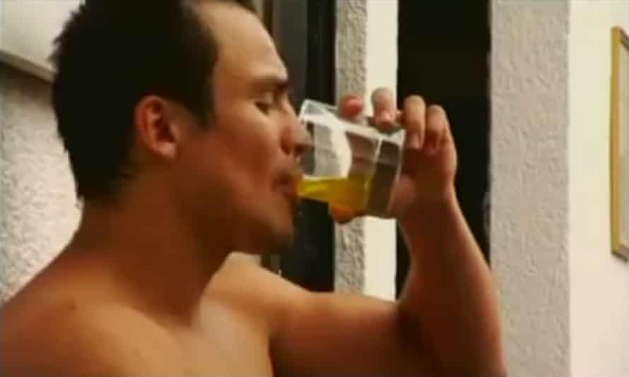 Juan Manuel Marquez drinks his own urine