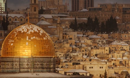 Peaceful vision … the Dome of the Rock mosque in Jerusalem.