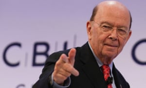 US Secretary of Commerce, Wilbur Ross, told the CBI that Britain would have to adopt US standards in any post-Brexit trade deal.