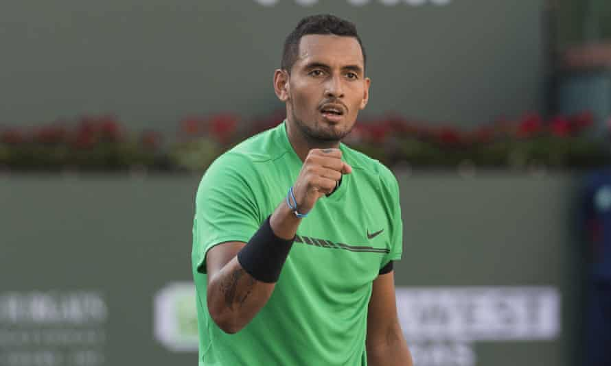 Nick Kyrgios wrote: 'I have to put my health first and I hope you understand.'