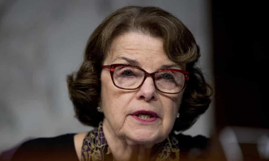 Senator Dianne Feinstein.
