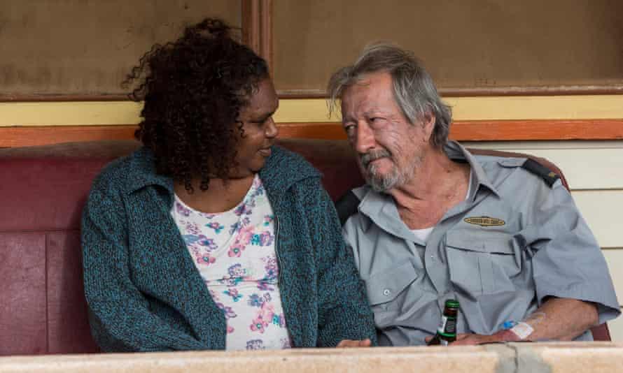 Ningali Lawford and Michael Caton in 2015 Australian film Last Cab to Darwin