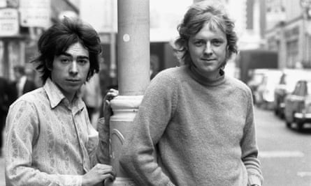 Andrew Lloyd Webber with Tim Rice in the early 70s.