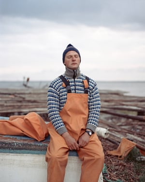 Between Two Shores by Tadas Kazakevicius (Lithuania) Shortlist. Tadas presents landscapes and portraits of local residents in the Curonian Spit, a sand dune separating the Curonian lagoon and the Baltic Sea