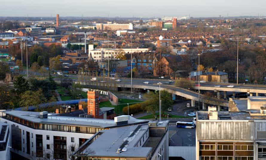 The view from Coventry Cathedral's tower. Could this become one of the most precious, beautiful parts of Britain?