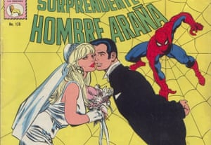 The Amazing Spider-Mex comic published by La Prensa, drawn in the 1970s by José Luis González Durán