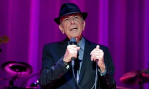 Leonard Cohen: 'I think that Bob Dylan knows this more than all of us: you don't write the songs anyhow'