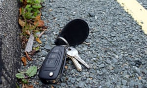 Lost keys cause panic: but cover is the poorest value.