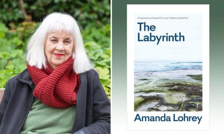 Amanda Lohrey and her book The Labyrinth.