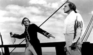 Marlon Brando and Trevor Howard in Mutiny in the Bounty
