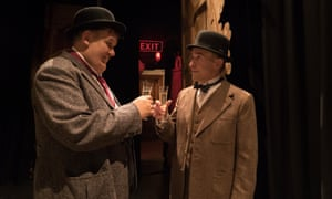 John C Reilly and Steve Coogan in Stan and Ollie.