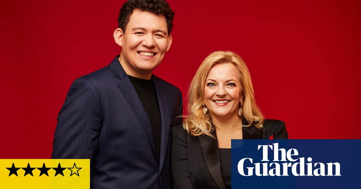 Callum Au and Claire Martin: Songs and Stories review – Claire Martin in big band shock