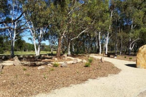 There is a natural burial ground at Gungahlin Cemetery in Canberra