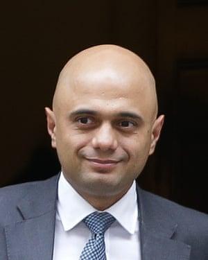 Communities secretary Sajid Javid.