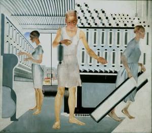 Alexander Deineka, Textile Workers, 1927.